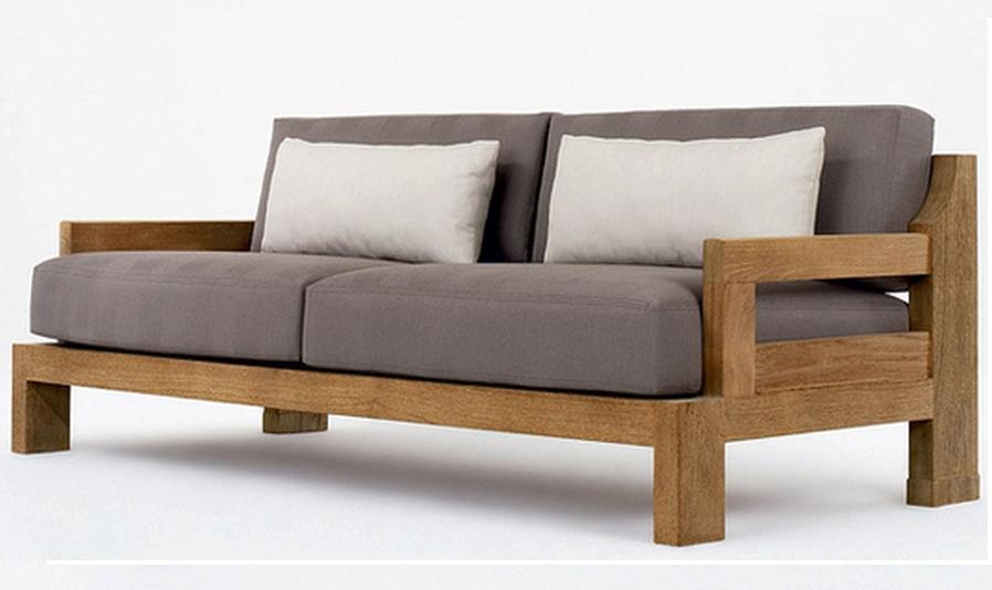 Деревянный диван своими руками 309